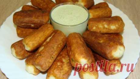 Сырные палочки - Простые рецепты Овкусе.ру