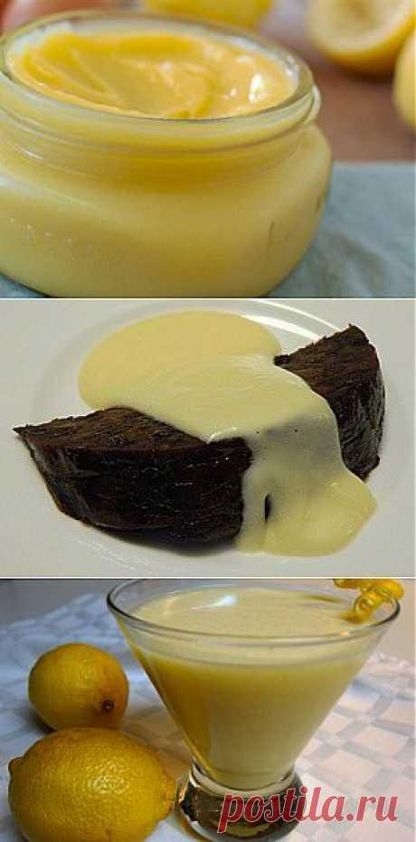 Лимонно-банановый крем