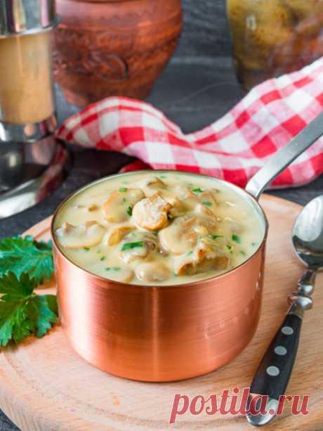 Рецепт грибного соуса к мясу на Вкусном Блоге