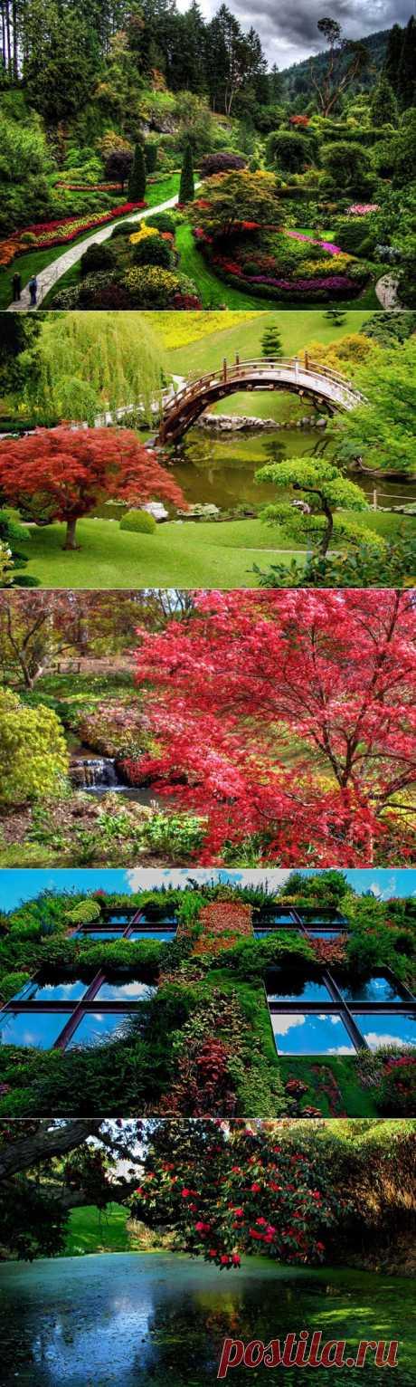 15 самых красивых садов в мире   Fresher - Лучшее из Рунета за день