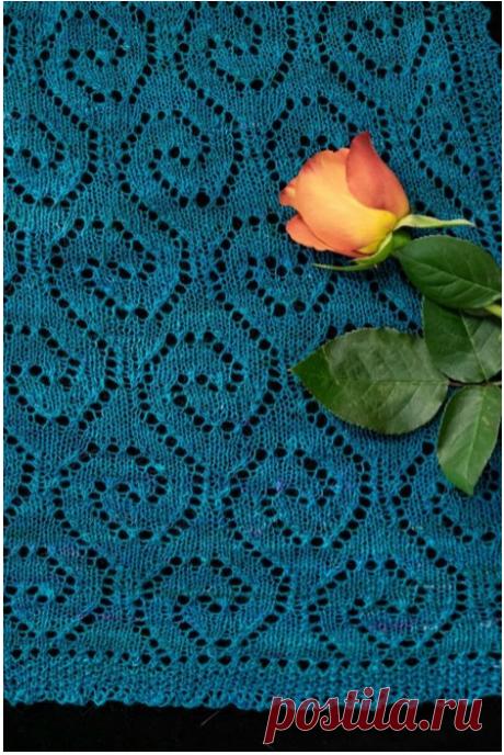 Палантин «Море снов» Дизайнер Denise Bartels.