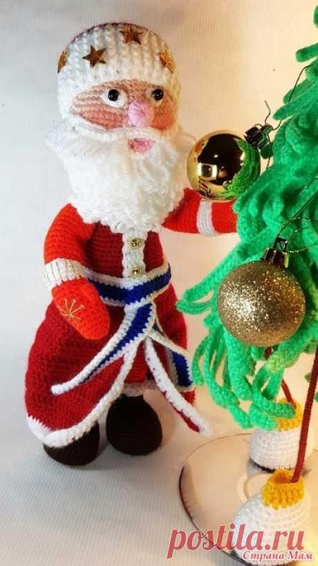 Онлайн по вязанию Деда Мороза. Доброго всем времени суток, дорогие мои Страномамочки  Для тех кто со мной ещё не знаком, меня зовут Светлана, или Света, кому как удобно.  Предпочитаю общение на ТЫ.