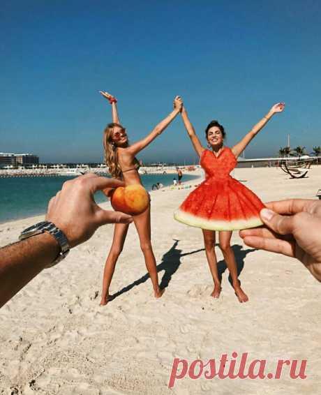 Пляжное игривое фото