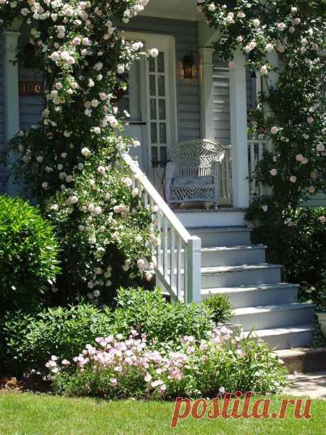 Дом милый дом Красота на даче.