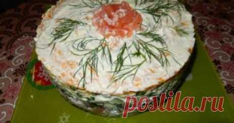 Салат Ленивые суши ...