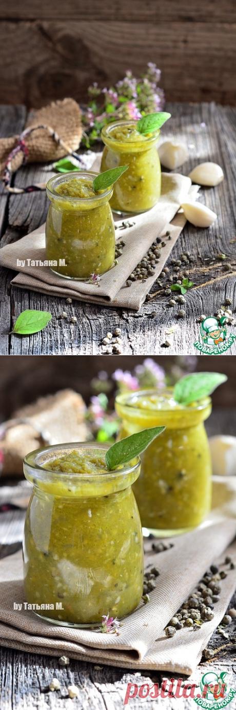"""Чесночный соус """"Пикантный"""" - кулинарный рецепт"""