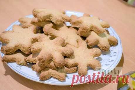 Овсяные печеньки   для детей, без глютена, без сахара, веган - Веганский рецепт   Ropovka.com