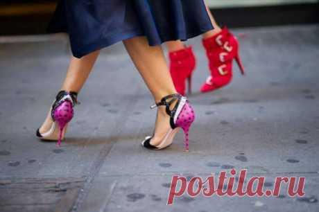 Какие каблуки сейчас в моде и какой гардероб лучше всего к ним подобрать | Люблю Себя