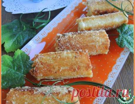Гренки-роллы на завтрак – кулинарный рецепт