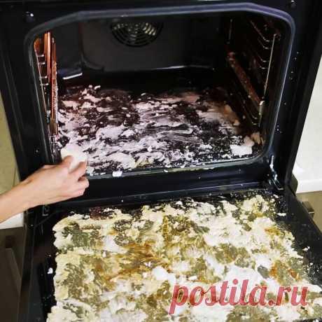 Огромное спасибо тому, кто придумал этот гениальный метод: Как очистить духовку без особых усилий - Мой город