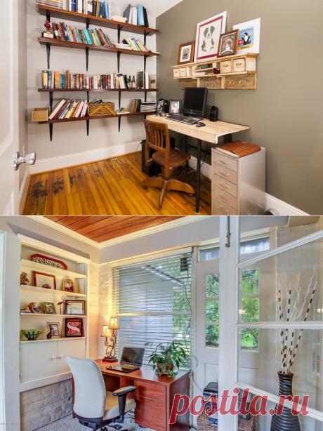 Рабочее место дома: 20 отличных идей