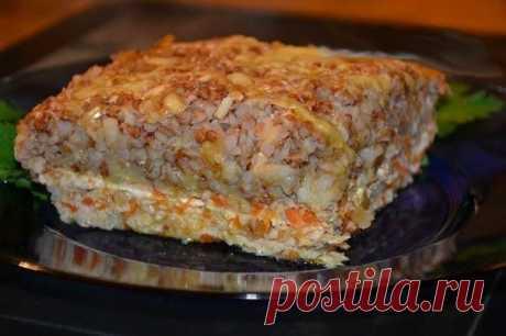 Запеканка с фаршем и гречкой — Sloosh – кулинарные рецепты