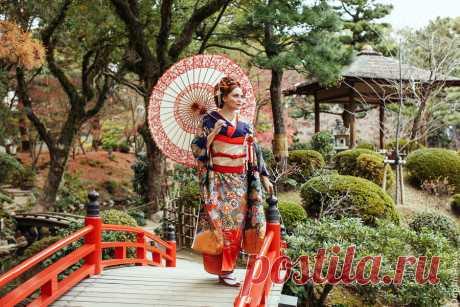Один мой день в кимоно (Хиросима, Япония) - Все без ума от Пеппи