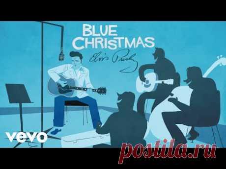 Скачать клип Elvis Presley - Blue Christmas бесплатно