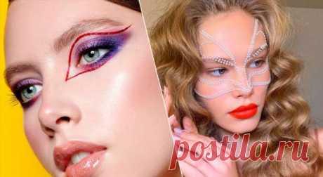 5 блестящих идей дляновогоднего макияжа . Милая Я
