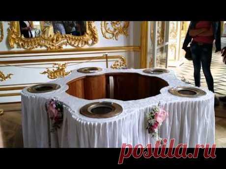 МЕХАНИЧЕСКИЙ СТОЛ  Императрицы  Павильон Эрмитаж Пушкин Санкт-Петербург
