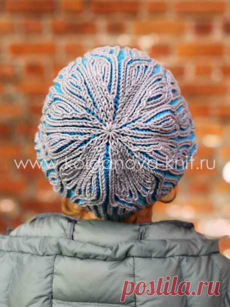 МК «Двухсторонняя шапка Бриошь» — kolganova-knit.ru