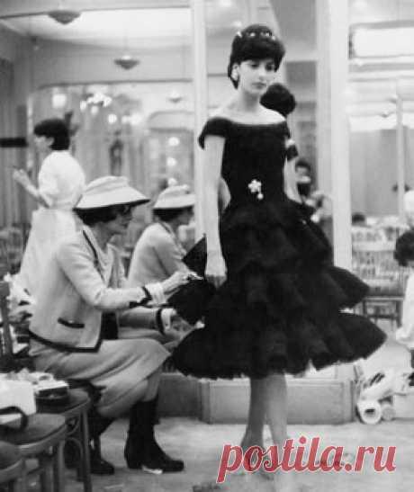 The Little Black Dress. 1920-1960s: ana_lee
