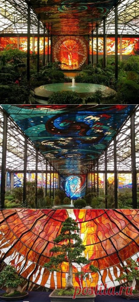 Космовитрал - ботанический сад с витрадами, Мексика - Путешествуем вместе