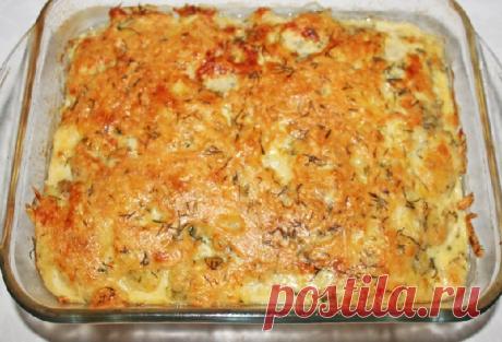 Картофельная запеканка — Сад Заготовки