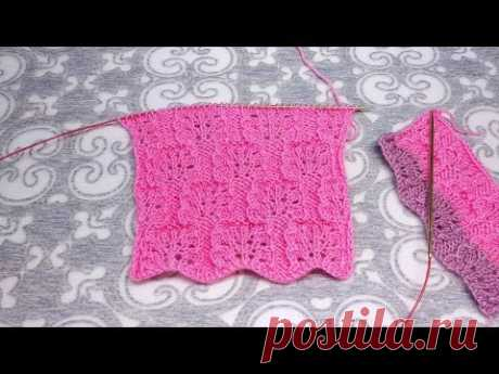 Схема: https://www.knittingideas.ru/posts/11615-milyi-uzor-spicami.html ______________________ Мой канал о вязании. Я буду здесь делиться с вами тем, что уме...