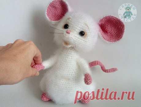 Чудо-мышка крючком!
