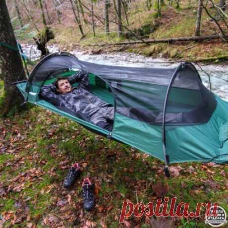 Интересная палатка-гамак!