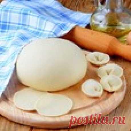 Тесто для пельменей с уксусом Кулинарный рецепт