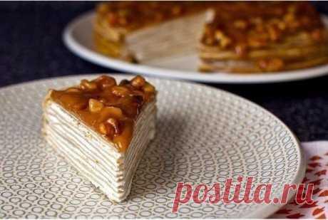 Блинный тортик — Sloosh – кулинарные рецепты
