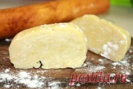 Как быстро приготовить несладкое песочное тесто | Fresh.ru домашние рецепты | Яндекс Дзен