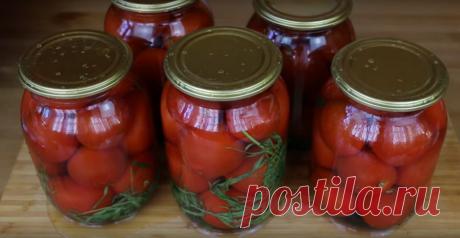Быстрые помидоры, маринованные без уксуса