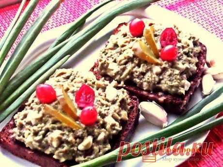 Закуска из авокадо и творога | Foodbook.su Все знают, что я люблю пикантные перекусы. На этот раз такой вариант прошу продегустировать.