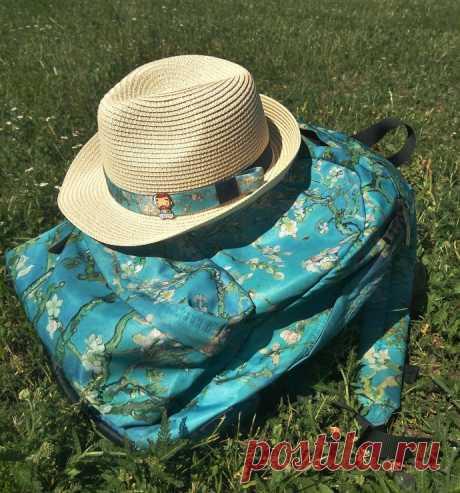 """Шляпа """"к рюкзаку"""" diy"""