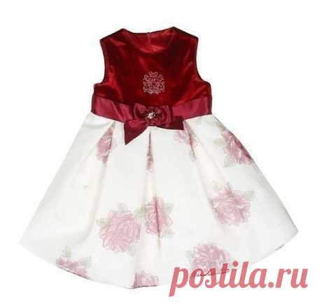 Нарядное платье для маленьких принцесс. Выкройка (Шитье и крой) | Журнал Вдохновение Рукодельницы