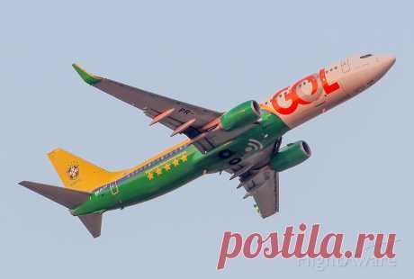 Фото Gol Transportes Aereos B738 (PR-GUM) - FlightAware