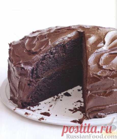 Шоколадный торт на RussianFood.com.