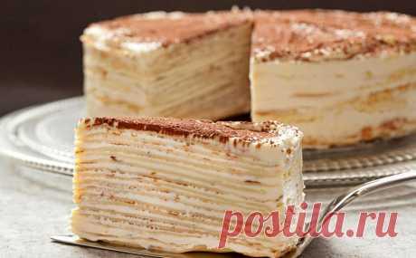 Блинный торт — 7 сладких рецептов. Очень вкусные, дети в восторге!
