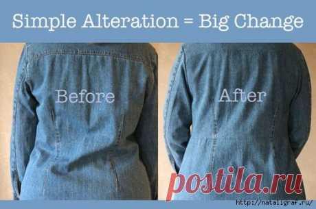 Интересные и практичные идеи из старых джинсовых вещей