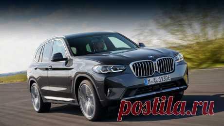 BMW X3 и X4 2022 обновились вместе с М-версиями