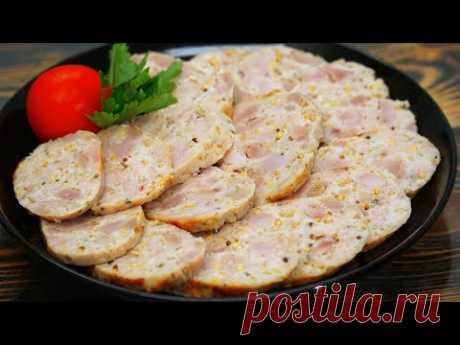 Зачем покупать вредную колбасу в магазине? Вкусные Куриные Колбаски | Кулинарим с Таней