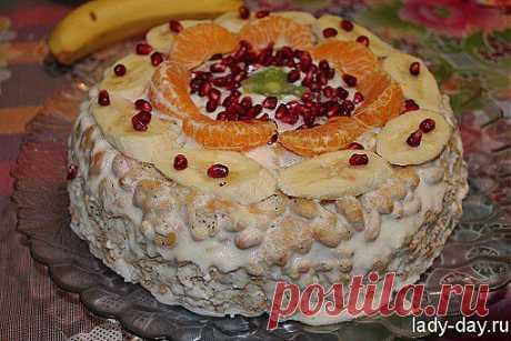 Торт без выпечки | Простые рецепты с фото