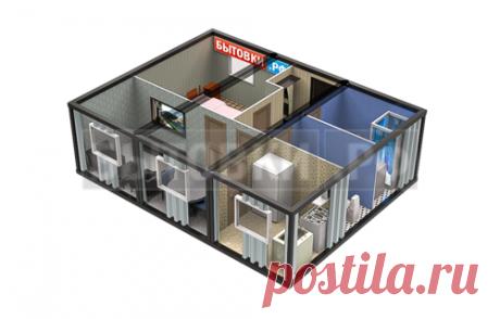 Производство модульных домов под ключ, купить модульный дом в СПб по ценам от производителя