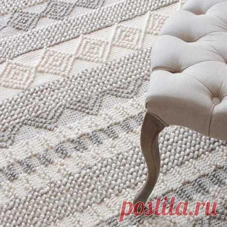 Jiro - Handmade Geometric Pattern Modern Rug – Warmly