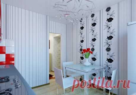 Современные идеи отделки стен: бюджетный вариант для кухни Как сделать недорогой ремонт в кухне? 📷 Фото и современные идеи отделки стен, которые можно легко и бюджетно повторить своими руками на кухне.
