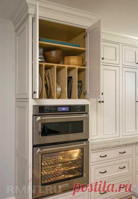 Идеи хранения крупной посуды на кухне — Rmnt.ru