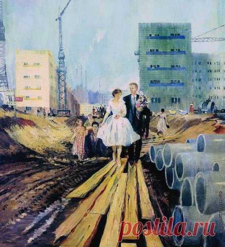 Москва и москвичи на полотнах импрессиониста эпохи соцреализма Юрия Пименова