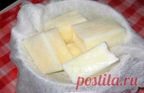 Творог из замороженного кефира (простокваши) - супер рецепт!
