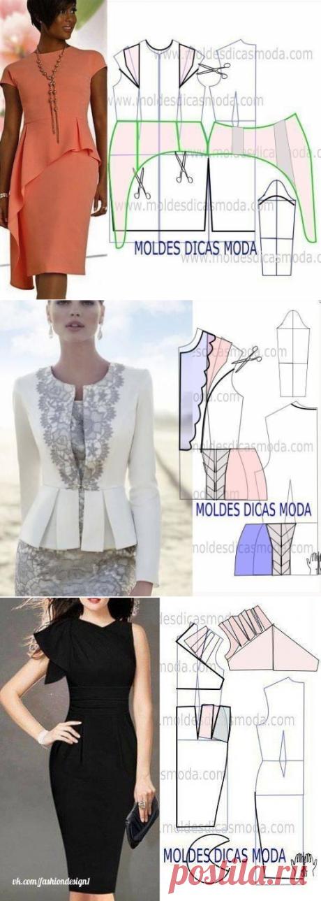 Идеи моделирования красивых нарядов