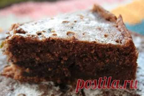 Безумно вкусный шоколадный кекс - Сладкие пироги и кексы