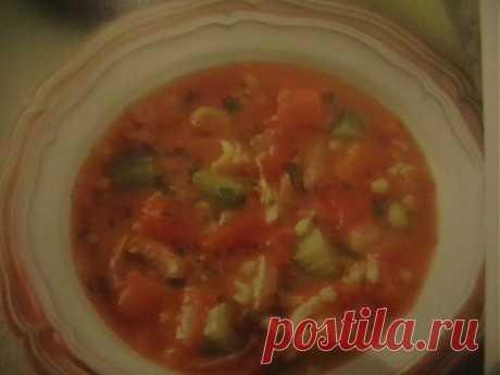 Ячменный суп с индейкой | Итальянское меню
